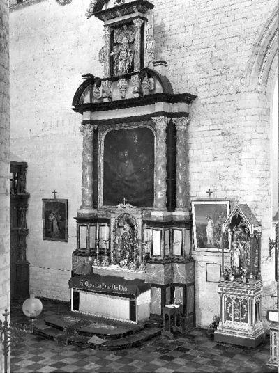 Altaar van Onze-Lieve-Vrouw van de Rozenkrans