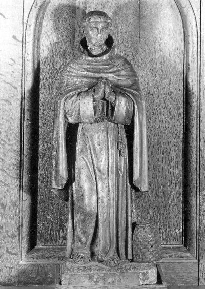 H. Bernardus van Clairvaux met bijenkorf