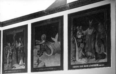 Reeks van twaalf muurschilderingen