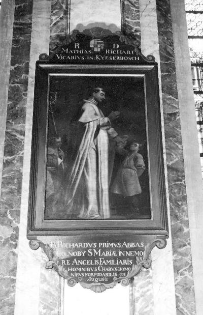 reeks ordeheiligen, zalige Richardus eerste abt van de abdij van Ninove