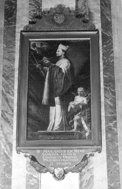 reeks ordeheiligen, zalige Macarius eertijds koning van Armenië