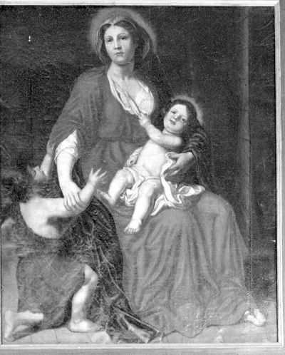 Onze-Lieve-Vrouw met Jezus en Sint-Jan