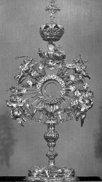 Christus, Onze-Lieve-Vrouw en druiventrossen