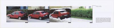 Rdeči avto (iz cikla Pred domačim pragom)