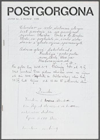 Postgorgona, 6