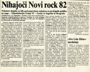Nihajoči Novi Rock 82