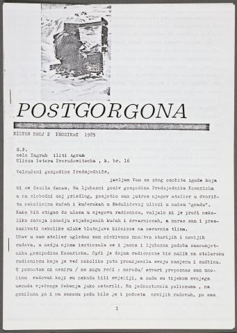 Postgorgona, 2