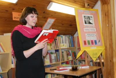 Spotkanie autorskie z Joanną Fabicką w Oddziale dla Dzieci MBP, 17.05.2010 r.