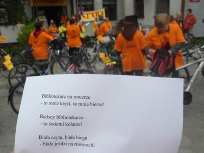 Rajd rowerowy Odjazdowy bibliotekarz, 13 maja 2013 r.