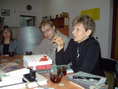Spotkanie z autorem kryminałów Marcinem Wrońskim, 19.10.2011