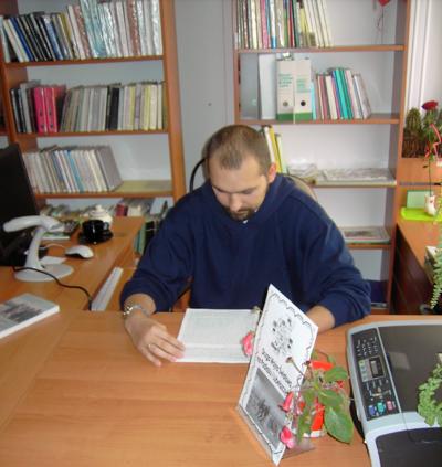 Podlasie w czasie II wojny światowej : spotkanie z Pawłem Borkiem w Filii nr 6 Miejskiej Biblioteki Publicznej w Białej Podlaskiej, 11.10.2009 r.