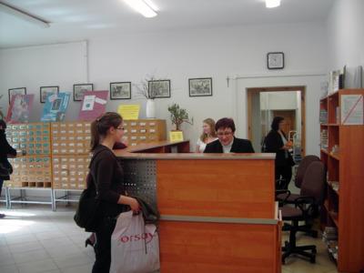 Wypożyczalnia książek dla dorosłych Miejskiej Biblioteki Publicznej w Białej Podlaskiej, 30.03.2010 r.