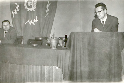 Spotkanie autorskie z Wojciechem Sulewskim, 8.03.1963 r.