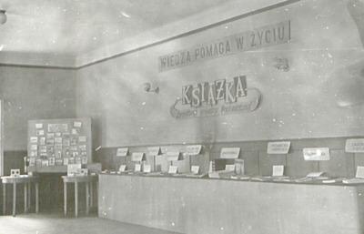 Wystawa przygotowana na finał konkursu Książka źródłem wiedzy technicznej, 1962