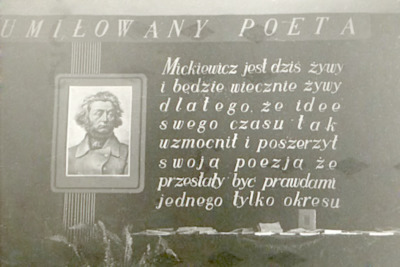 Dni Oświaty Książki i Prasy : wsytawa poświęcona Adamowi Mickiewiczowi w 100 rocznicę śmierci