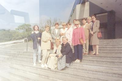 Wycieczka bibliotekarzy z Białej Podlaskiej do Biblioteki Śląskiej w Katowicach
