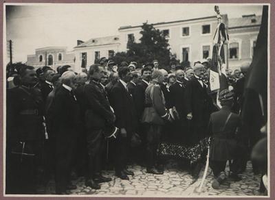 Pobyt prezydenta RP Stanisława Wojciechowskiego w Sandomierzu.