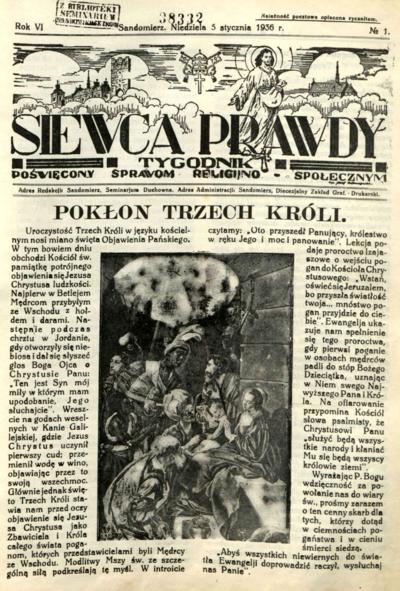 Siewca Prawdy, Rocznik VI, rok 1936