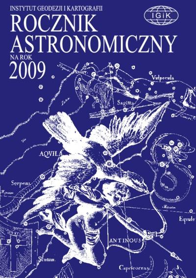Rocznik Astronomiczny na rok 2009