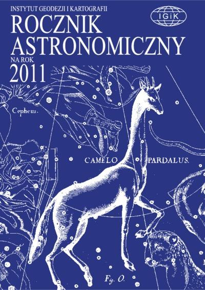 Rocznik Astronomiczny na rok 2011
