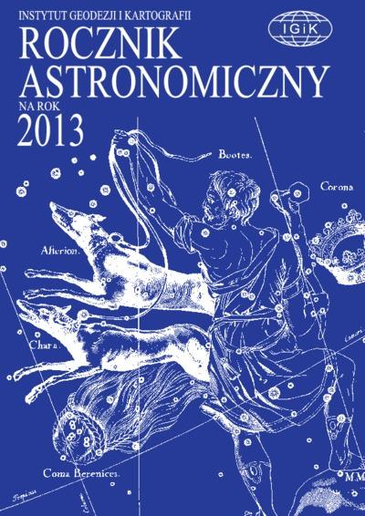 Rocznik Astronomiczny na rok 2013