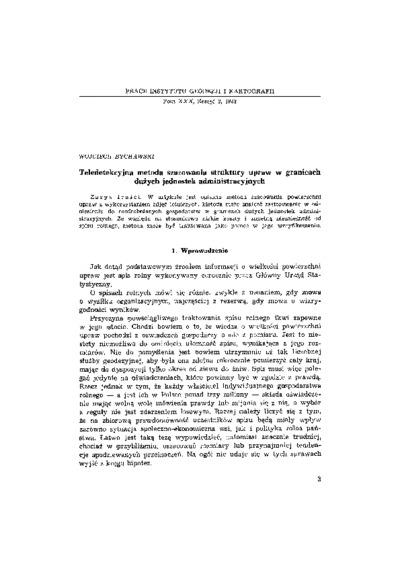 Teledetekcyjna metoda szacowania struktury upraw w granicach dużych jednostek administracyjnych