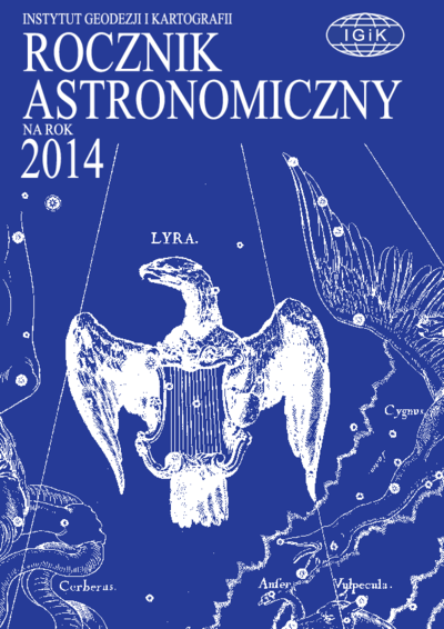 Rocznik Astronomiczny na rok 2014