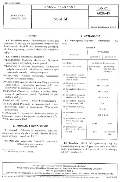 Steol M BN-71/6026-49