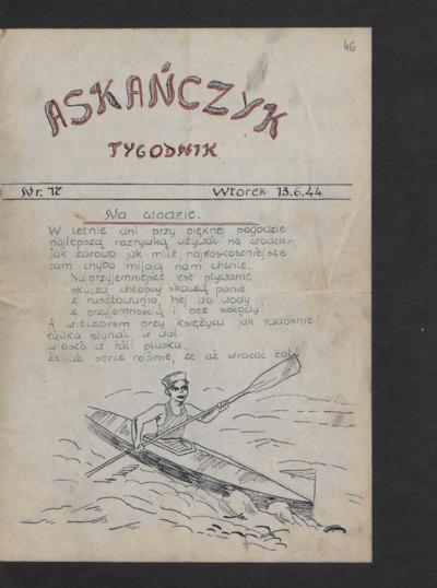 Askańczyk : tygodnik. 1944-06-13 [R. 1] nr 17