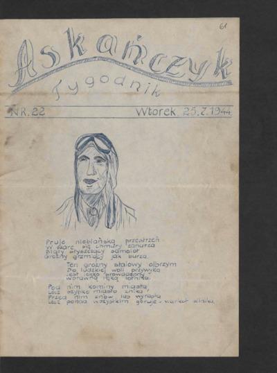 Askańczyk : tygodnik. 1944-07-25 [R. 1] nr 22