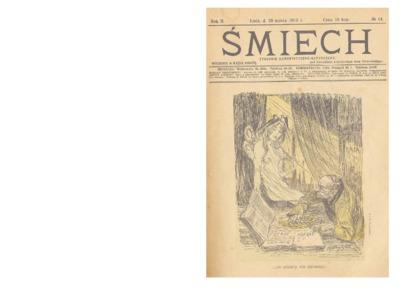 Śmiech : tygodnik humorystyczno-satyryczny : wychodzi w każdą sobotę. 1913-03-29 R. 2 no 14