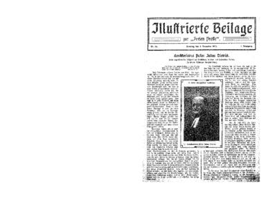 Illustrierte Beilage : zur Freien Presse. 1923-12-09 1. Jg nr 24