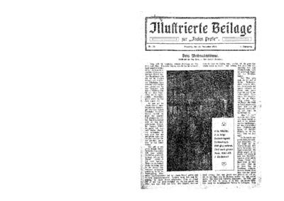 Illustrierte Beilage : zur Freien Presse. 1923-12-25 1. Jg nr 26