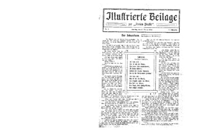 Illustrierte Beilage : zur Freien Presse. 1924-01-13 2. Jg nr 3