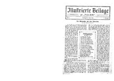 Illustrierte Beilage : zur Freien Presse. 1924-04-06 2. Jg nr 15