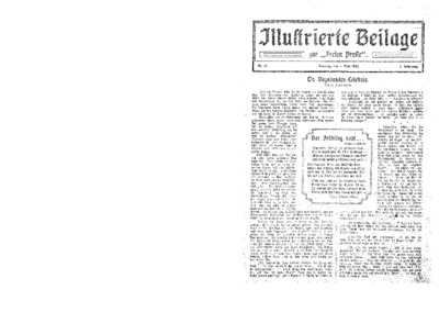 Illustrierte Beilage : zur Freien Presse. 1924-05-04 2. Jg nr 19