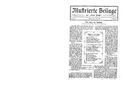 Illustrierte Beilage : zur Freien Presse. 1924-05-11 2. Jg nr 20