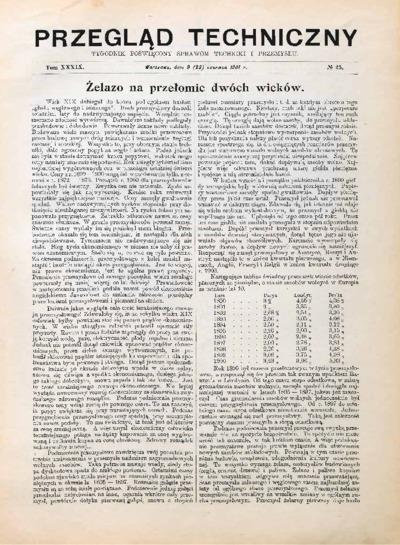 Przegląd Techniczny 1901 nr 25