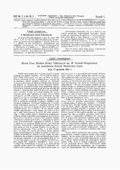 Czasopismo Techniczne 1932 nr 3