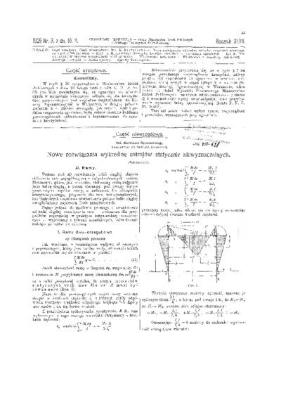 Czasopismo Techniczne 1929 nr 3