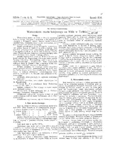 Czasopismo Techniczne 1929 nr 7
