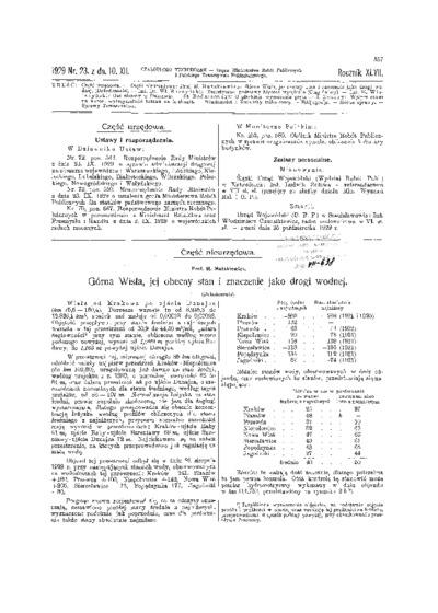 Czasopismo Techniczne 1929 nr 23