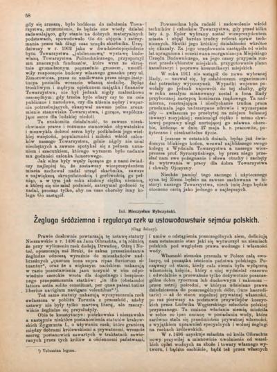 Bibliografia pełnotekstowa wybranych publikacji profesora Mieczysława Rybczyńskiego