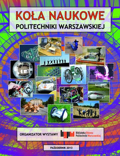 Koła Naukowe Politechniki Warszawskiej. Plakat tytułowy