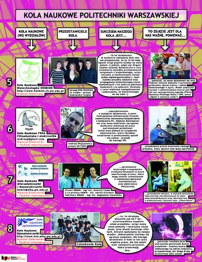Koła Naukowe. Plakat 2