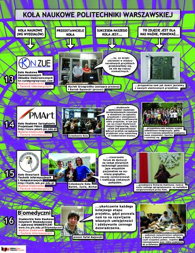 Koła Naukowe. Plakat 4