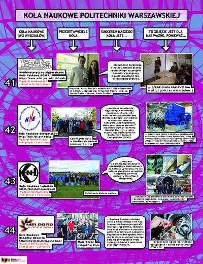 Koła Naukowe. Plakat 11