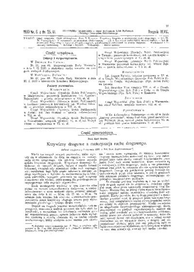 Czasopismo Techniczne 1930 nr 6