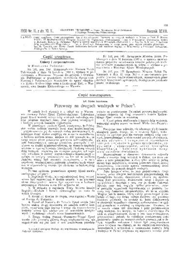 Czasopismo Techniczne 1930 nr 11