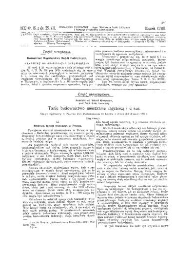 Czasopismo Techniczne 1930 nr 16